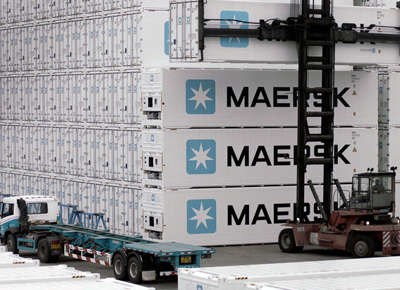 refrigerated container tracking
